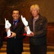 Docteur E. Arnaud-Crozat et Pavloff (ecrivain) élus Hommes de l'année 2004 par le Club de la Presse de Grenoble et de l'Isère